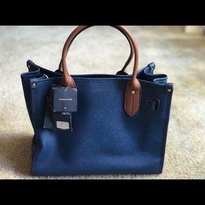 The my Hilfiger Signature Tote Handbag Purse